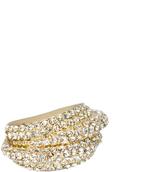 Love Rocks Crystal Love Knot Ring