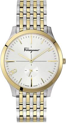 Salvatore Ferragamo Men's Slim Gent Two-Tone Bracelet Watch