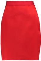 Lanvin Satin Mini Skirt