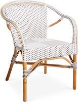 Sika Design A/S Madeleine Arm Chair, White/Cappuccino
