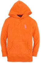 Ralph Lauren Girls' Fleece Tunic Hoodie