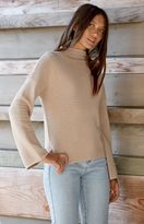 MinkPink Ripple Stitch Pullover Sweater