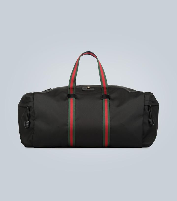 Gucci Technical canvas duffel bag