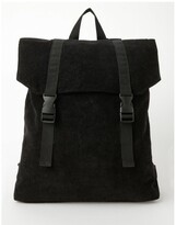 Thumbnail for your product : Miss Shop Corduroy Flap Over Backpack Bag