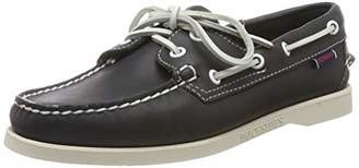 Sebago Men's Docksides Portland Boat Shoes, Brown (Dk Brown), 11 UK Wide 10.5