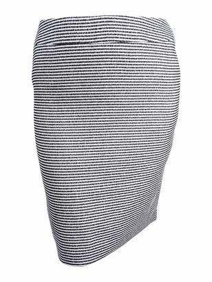 Nine West Women's Striped Tweed Slim Skirt