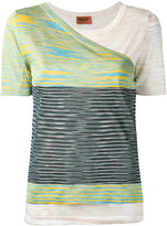 Missoni knitted layer T-shirt - women - Viscose - 40