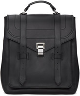 Proenza Schouler Black Ps1and Backpack