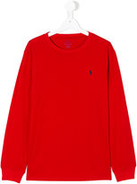 Ralph Lauren classic knitted top - kids - Cotton - 14 yrs