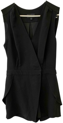 Intermix Black Silk Jumpsuit for Women