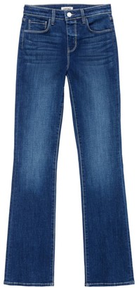 L'Agence Oriana High-Rise Straight Jeans