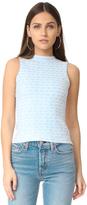Milly Geo Jacquard Top