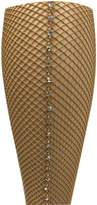 Capezio Swarovski Rhinestones Fishnet Seamed Tights 3400 (SM, )