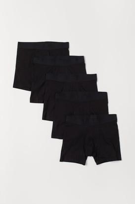 H&M 5-pack Boxer Shorts - Black