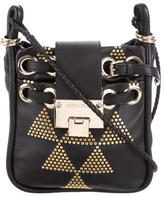 Jimmy Choo Embellished Rio Crossbody Bag