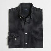 J.Crew Factory Washed shirt in two-tone gingham