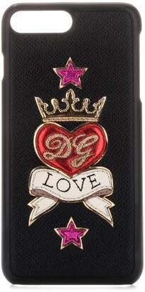 Dolce & Gabbana Love Emblem iPhone 7/8 Plus Case