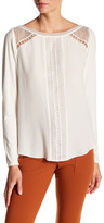 Hale Bob Embroidery Stripe Blouse