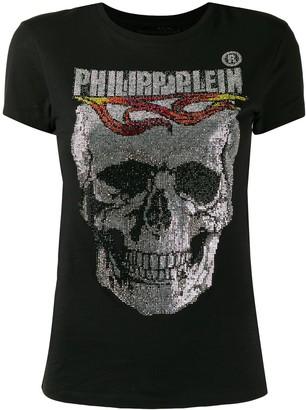 Philipp Plein Flame printed T-shirt