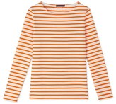 Petit Bateau Womens iconic marinière in heavy jersey