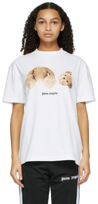 Palm Angels White Bear T-Shirt