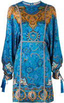 Etro embroidered dress - women - Silk/Cotton/Polyester/Viscose - 38