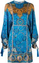 Etro embroidered dress - women - Silk/Cotton/Polyester/Viscose - 40