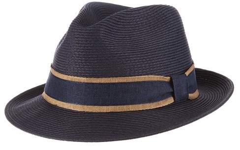 7c410e0d4 Fine Braid Fedora Hat