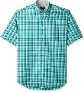 Cutter & Buck Men's Easy Care Button Down Short Sleeve Shirts
