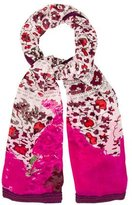 Diane von Furstenberg Embellished Silk Scarf