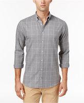Tommy Hilfiger Men's Flannel Windowpane Shirt