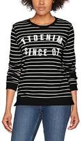 Tom Tailor Women's Striped Sweater Sweatshirt