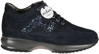 Hogan Broken Embroidery Interactive Sneakers