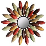 Home source industries Autumn Leaf Metal Wall Mirror