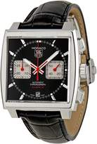 Tag Heuer Men's Patent Leather Analog with Dial Watch CAW2114.FC6177