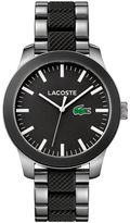 Lacoste Unisex Lacoste.12.12 Mixed Material Black Watch