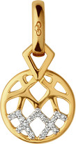 Links of London Timeless Gold 18ct yellow-gold and diamond charm