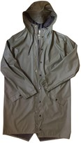 Rains Green Polyester Jackets