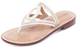 Bernardo Women's Tania Leather Thong Sandals