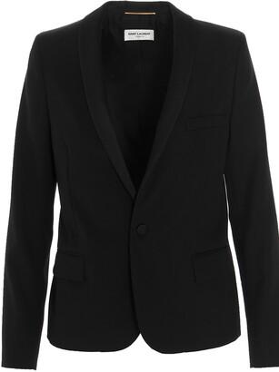 Saint Laurent Shawl Collar Tuxedo Jacket