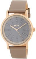 DKNY Women&s Soho Crystal Accented Watch