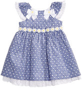 Bonnie Baby Eyelet and Daisy Gingham-Print Dress, Baby Girls (0-24 months)