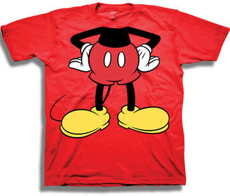 DISNEY MICKEY MOUSE Disney Toddler Boys Graphic Tees Boys Crew Neck Short Sleeve Mickey Mouse Graphic T-Shirt-Toddler