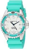 Momentum Women's Quartz Stainless Steel and Rubber Diving Watch, Color:Blue (Model: 1M-DN11LA1A)