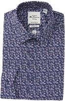 Ben Sherman Tailored Slim Fit Floral Dress Shirt