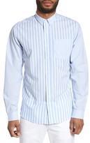 Slate & Stone Men's Slim Fit Stripe Sport Shirt