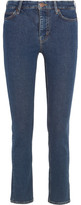 MiH Jeans Daily High-rise Slim-leg Jeans - Mid denim