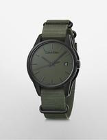 Calvin Klein Tone Nato Watch