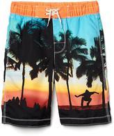 Skate beach board shorts