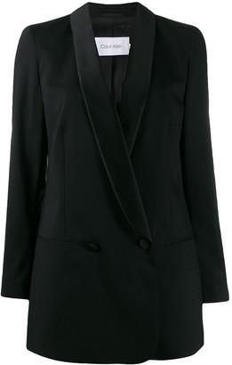 Calvin Klein Boxy Tuxedo Jacket